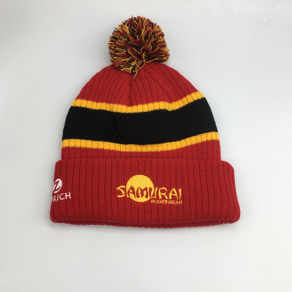 new design sport winter hats, China whole sale beanies with